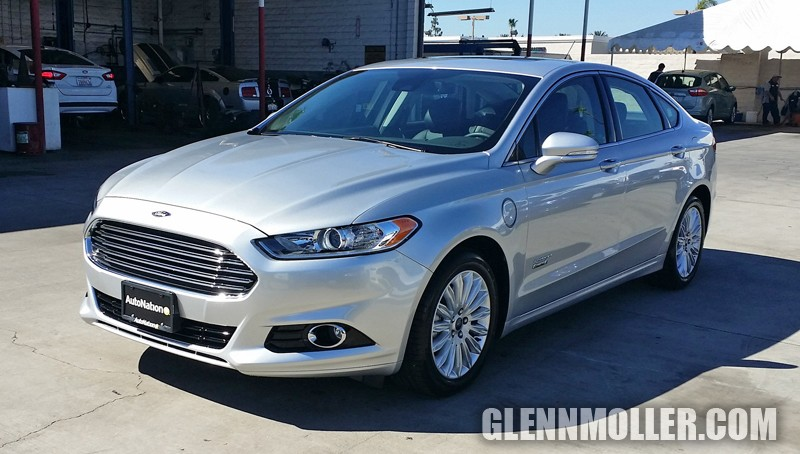 picked up a new ford fusion energi titanium here is what a 40k fusion looks like mustang. Black Bedroom Furniture Sets. Home Design Ideas